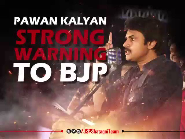 .@JanaSenaParty Chief @PawanKalyan stron...