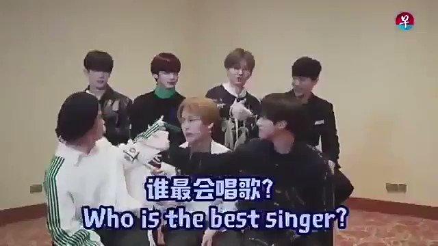 who is the best singer?  Jooheon: Changk...
