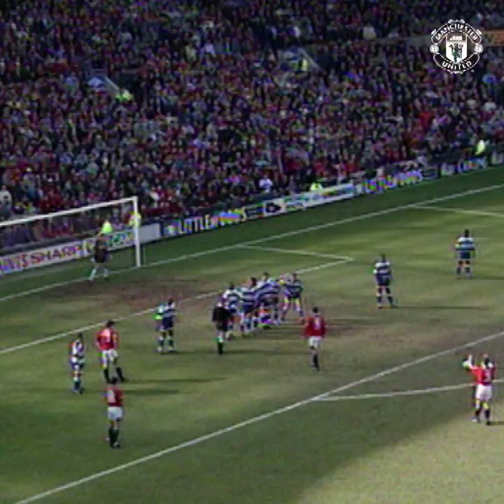 Denis Irwin loved an #FACup goal... 🏆  How about this quarter-final strike v QPR in 1995! 💥