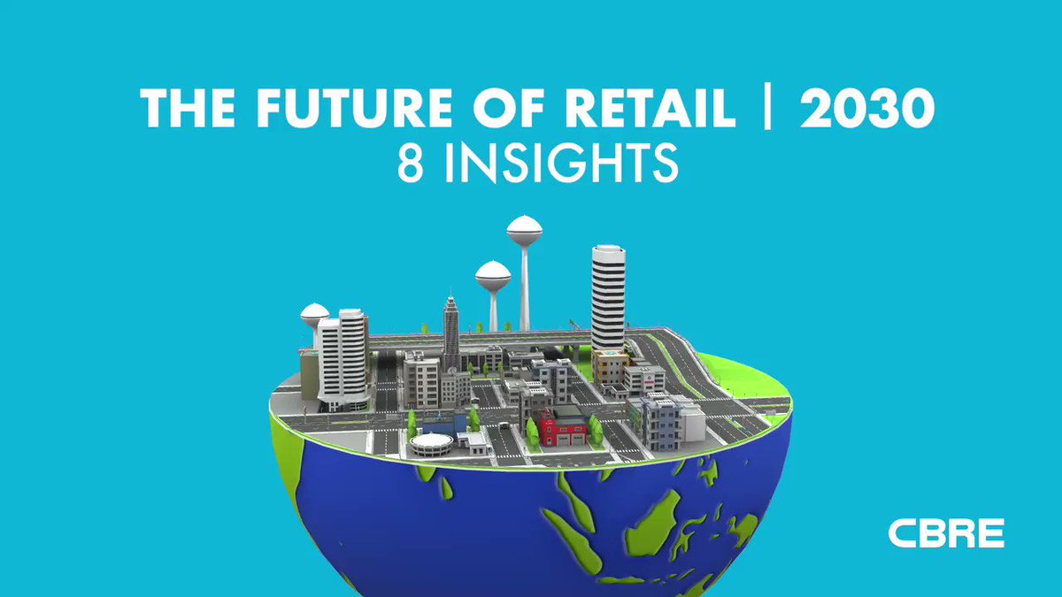 Will robotics and automation replace jobs in the retail sector?  Read these and other insights from #CBRE in the #FutureOfRetail2030; https://t.co/fmMAbxegRt