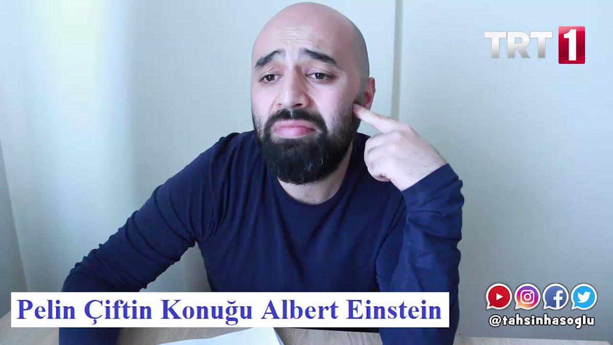 Albert Einstein, Pelin Çift'e konuk olur...