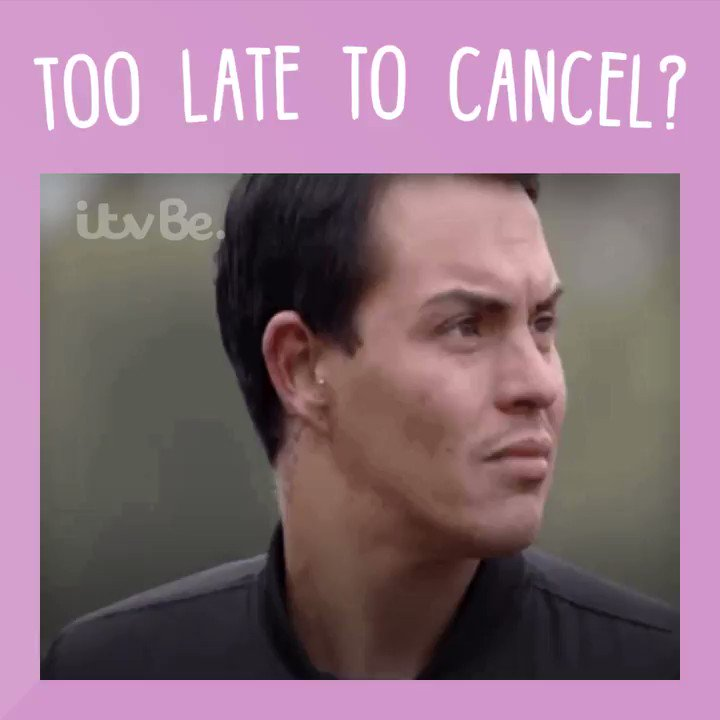 RT @ITVBe: When you forgot to cancel that night out you committed to 🤦♀️ #FridayFeeling @BobbyCNorris https://t.co/76Yt2OXicu