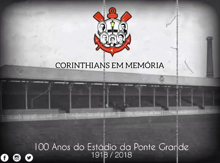 #hojenahistoria @Corinthians 100 anos do...