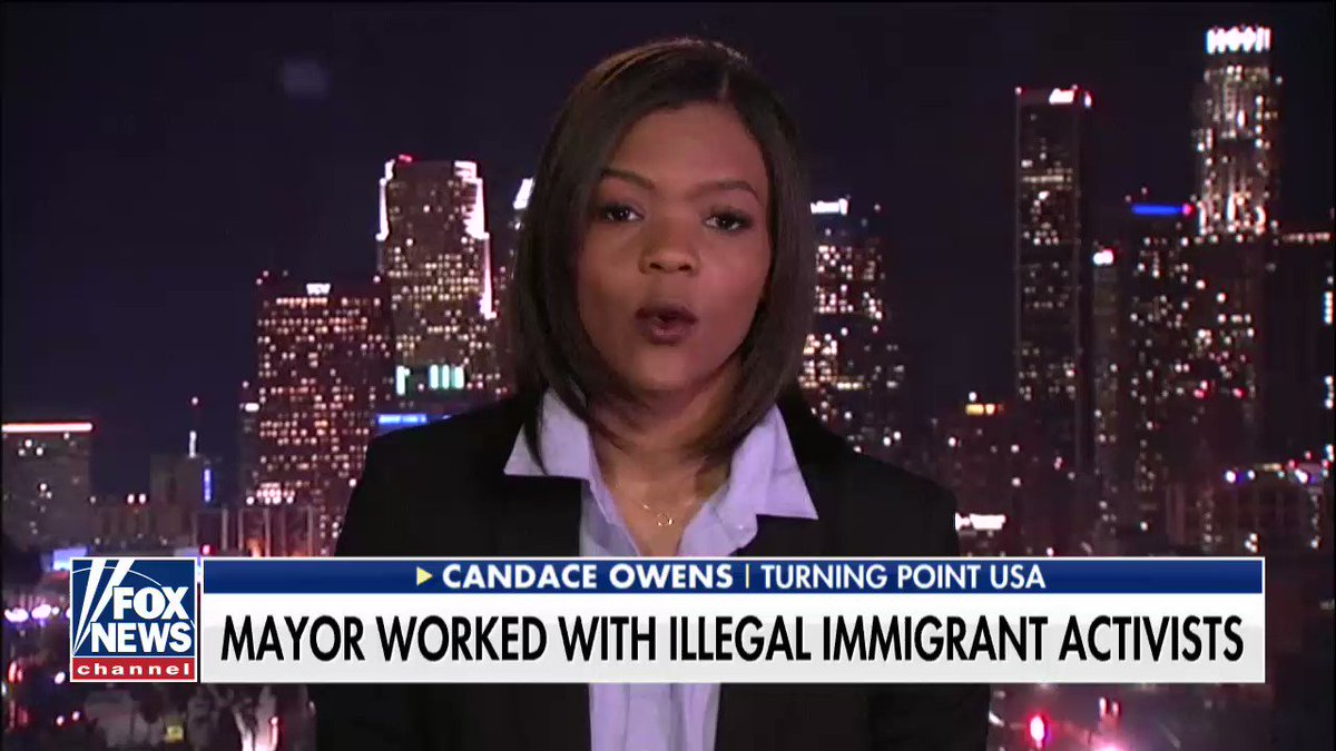 """Candace Owens: """"We can't have states within this union that are not complying with federal law."""""""