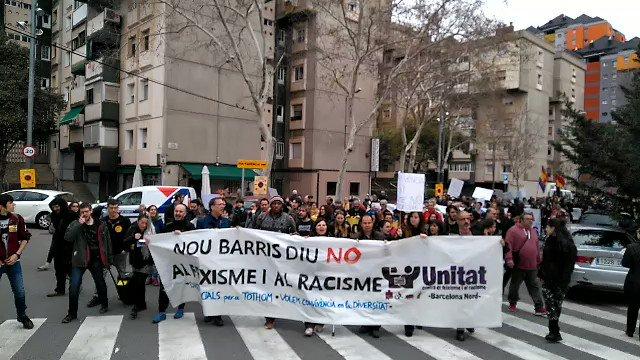 CONTRA EL RACISME | 📽️ Nou Barris diu NO...