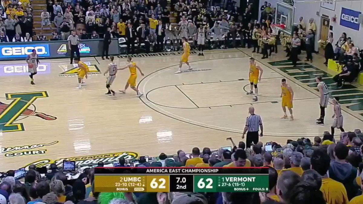 A reminder of how @UMBCAthletics got into the tournament in the first place ...