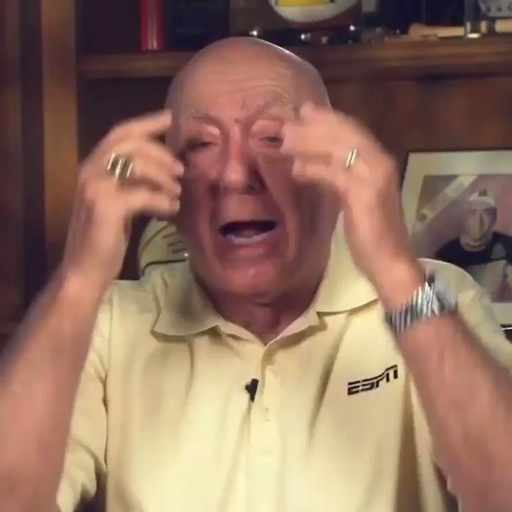 Dickie V is already ripping up brackets 😂