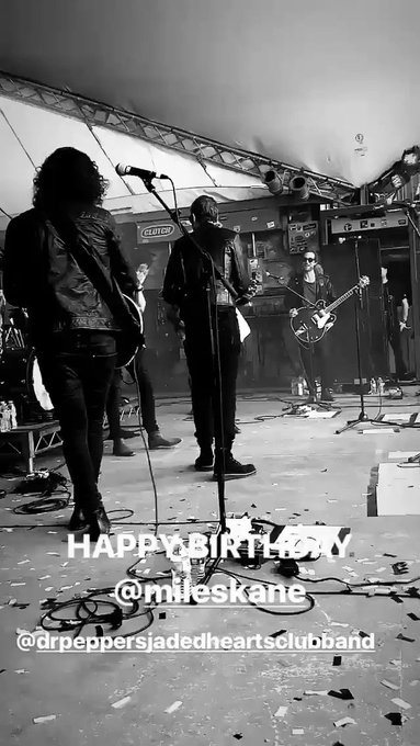 Happy Birthday Miles Kane!! also Dom is here