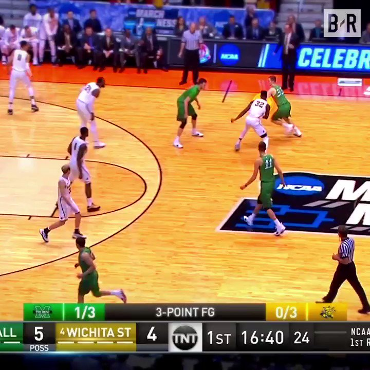 Marshall's Jon Elmore cashed in yesterday vs. Wichita State ( ➡️@POWERADE ) https://t.co/M8A8AIqhcw