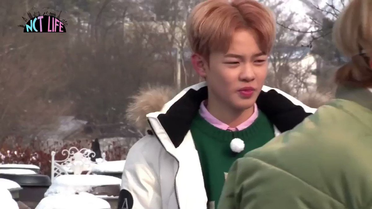 chenle sticking out his tongue on loop b...