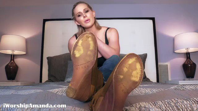 New #Shoe #FootFetish Clip Added  - Boot...
