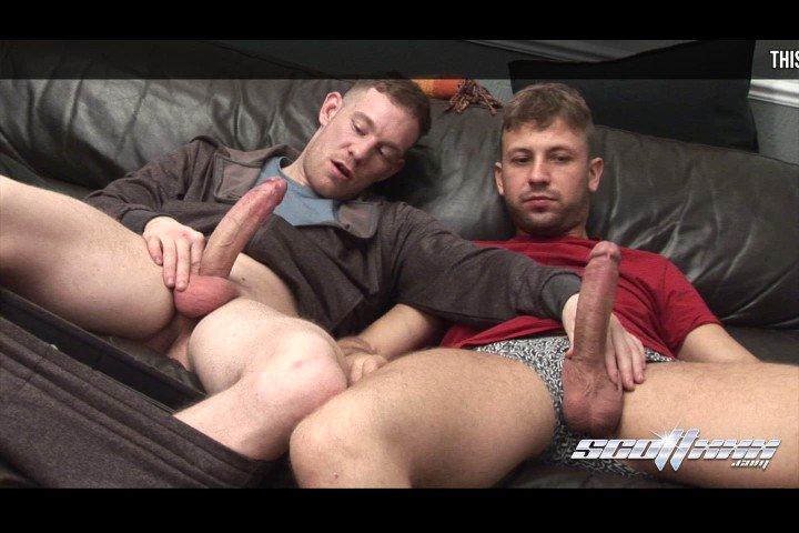 Cum dump with kissing