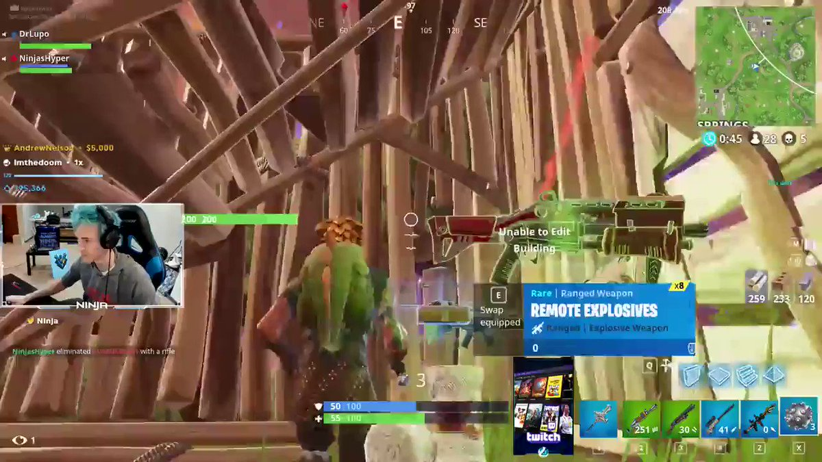 Felt like Michael Jordan from Space Jam with this impulse nade.