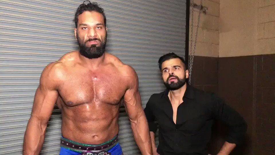 .@JinderMahal makes a BOLD statement at #WWESanAngelo. How will @REALBobbyRoode & @RandyOrton respond? #SDLive