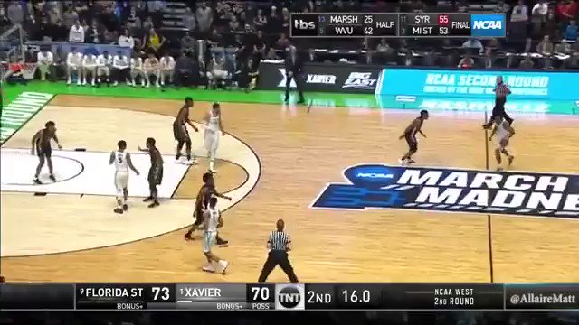 xavier airballed a three to lose so i pu...