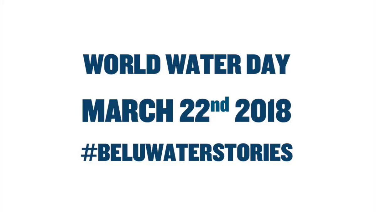 Image for the Tweet beginning: We're counting down to #WorldWaterDay