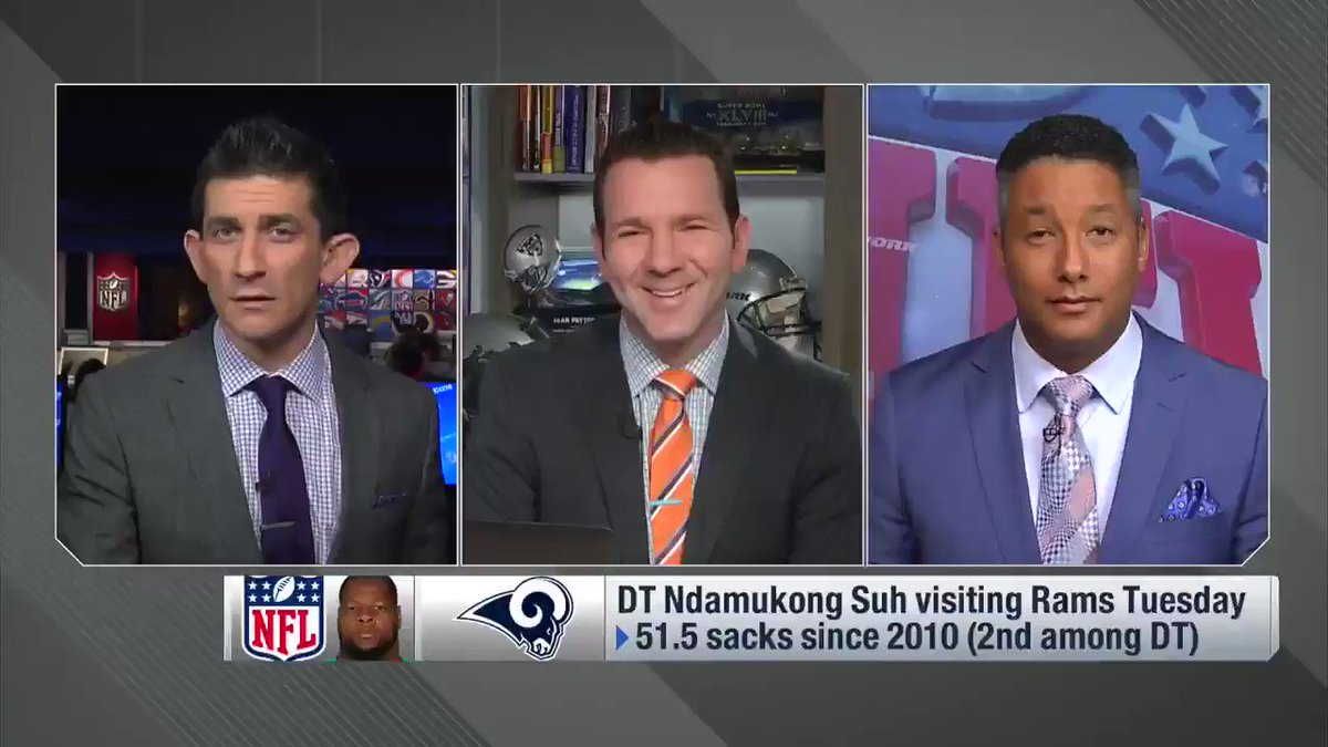 The #Rams are hosting DT Ndamukong Suh.....