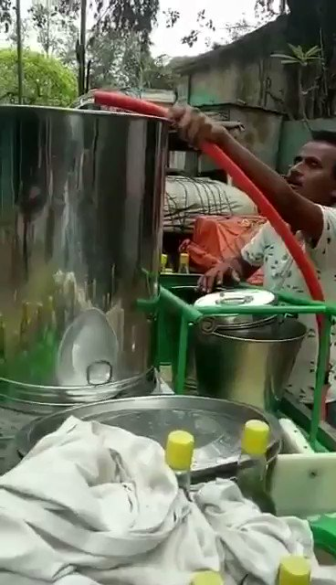 People maintaining hygiene for eatables...