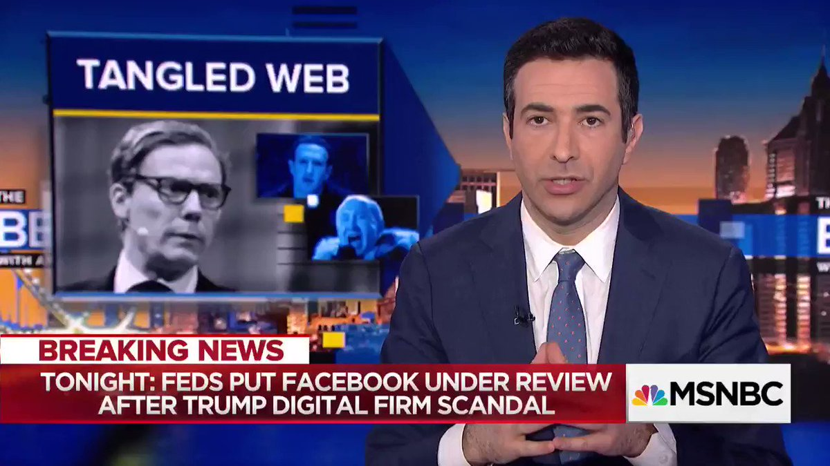 TheBeat w/Ari Melber's photo on Mark Zuckerberg