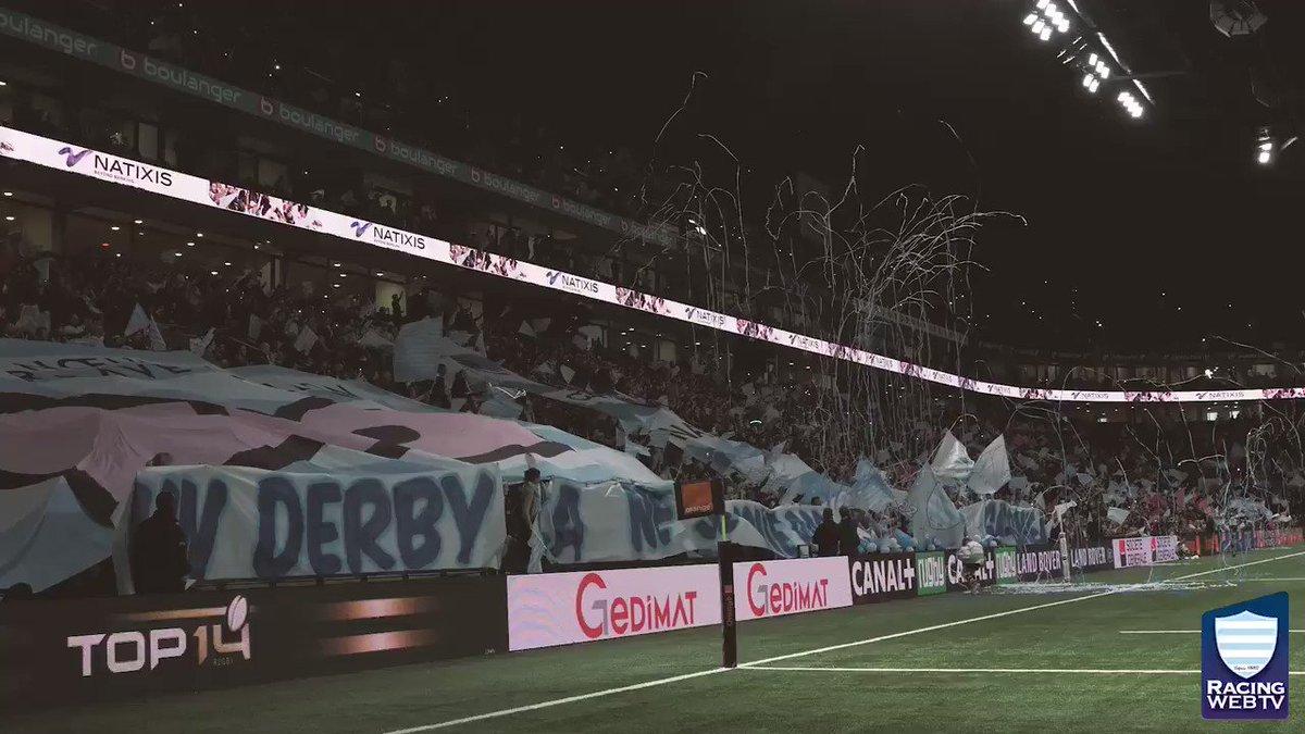 ️ Doublé de @TeddyThoms, premier essai de @BorisPalu , nouvel essai de @chaw32 ... Plongez au cœur du derby francilien à la @UArena  !  #R92SFP #RacingFamily https://t.co/0mpq6jeIzi