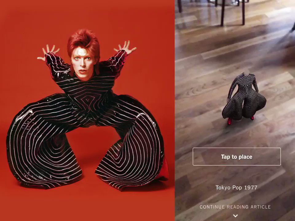 Examine, close up, David Bowie's eye for detail, and how he flouted gender and social norms https://t.co/AE3AhkxoIM https://t.co/GfTrvUjffr