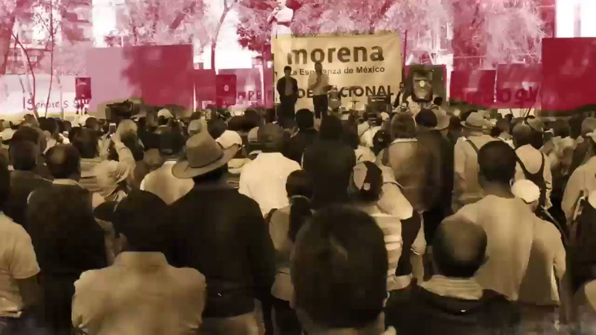 #Morena es la esperanza de México. Acá u...