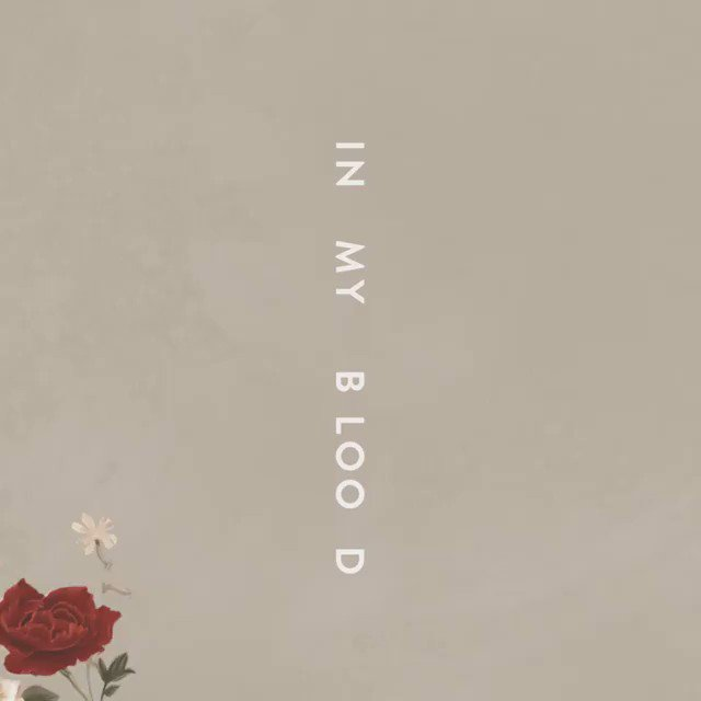 Listen to @shawnmendes #InMyBlood out now! https://t.co/fwHYSkUw8A https://t.co/ezDVw5r86D