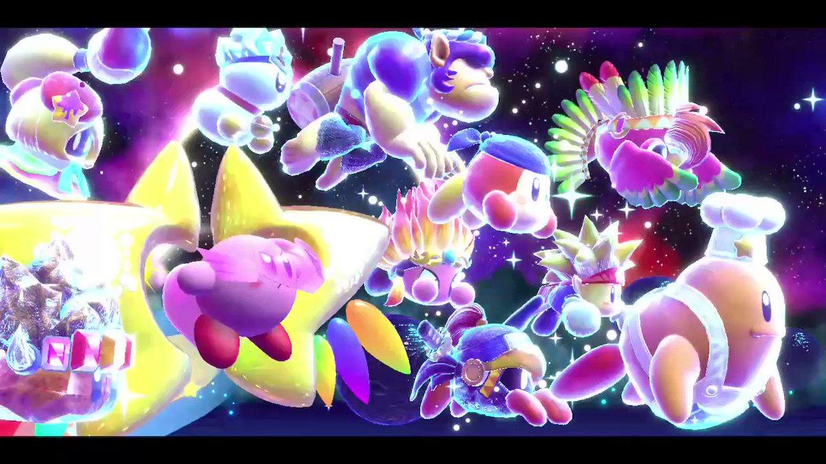 アライズの好きなシーン   #星のカービィスターアライズ  #KirbyStarAllies #NintendoSwitch