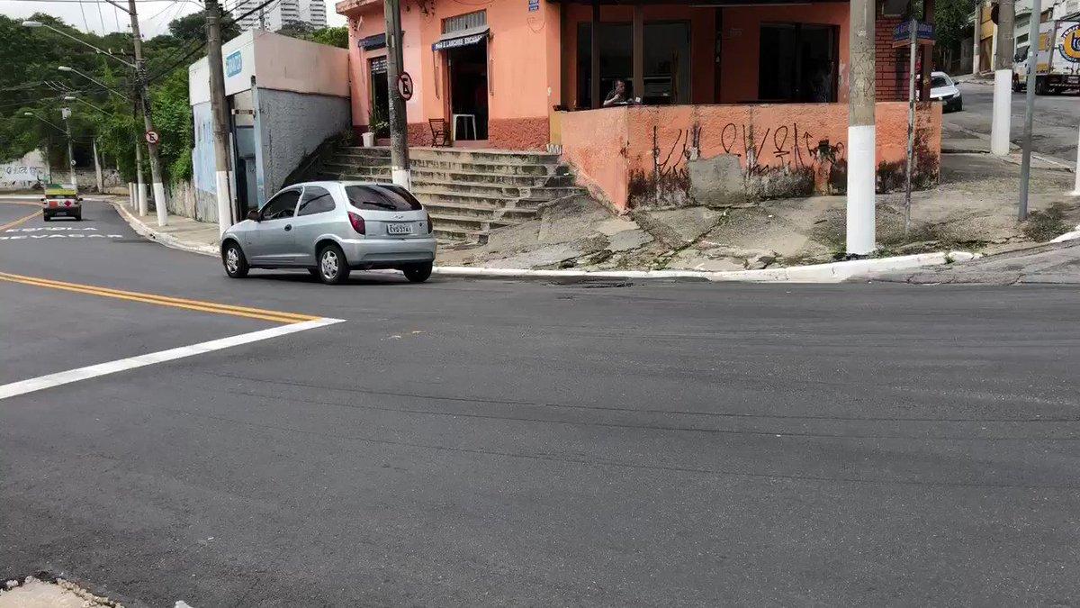 """#BDSP """"asfalto novo"""" foi inaugurado pelo..."""