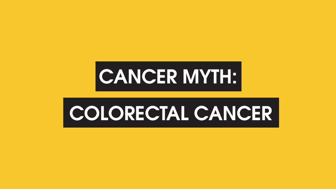 RT @SU2C: We're sharing the facts about this common #coloncancer myth.   #ColonCancerAwareness #FactFriday https://t.co/cZnfqTiDIz