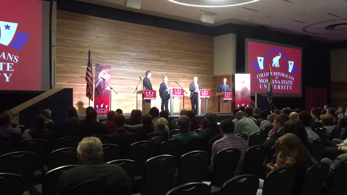 Montana Senate debate highlights: Rosendale says he's made preparations to leave auditor's office