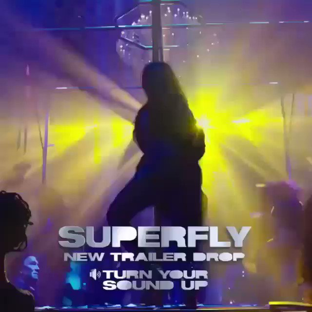 """Catch me in the New """" SuperFly """" Movie 🎥 https://t.co/FMY0hehXwX"""