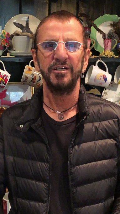 Happy Birthday Steven Tyler. Peace & Love, Ringo