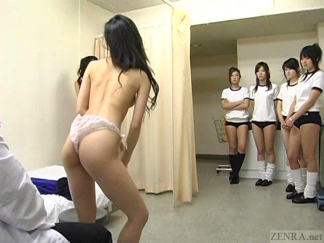 Японки на на медосмотре