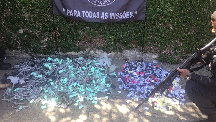 Assista ao vídeo da apreensão de drogas realizada na #Covanca . #OperaçãoIntegrada #BAC #18BPM