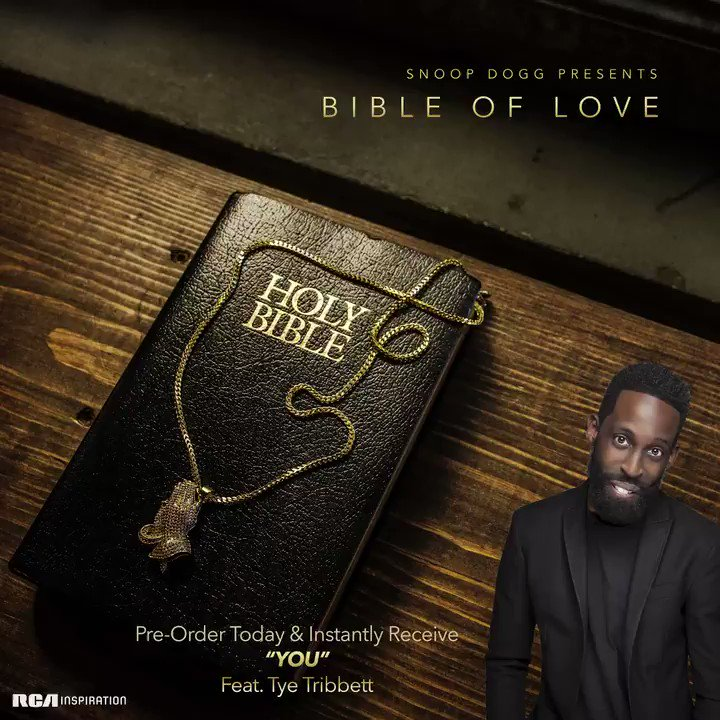 my guy @TyeTribbett brought the SOUL on this one ✨#BibleofLove available everywhere https://t.co/hajNR8u1lw https://t.co/TMKavTdtCG
