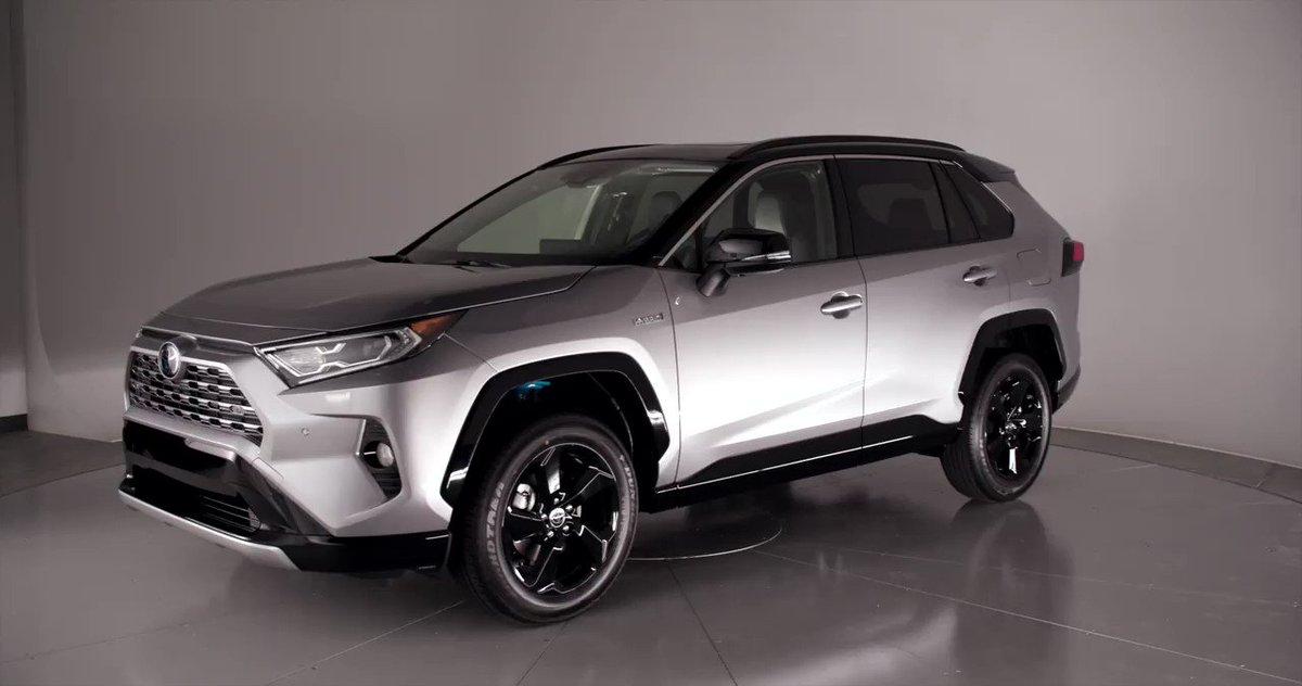 Get To Know The All New 2019 Toyota Rav4 Xse Hv Https T Co Yrmmuagaz5 Nyias 3yposldsus