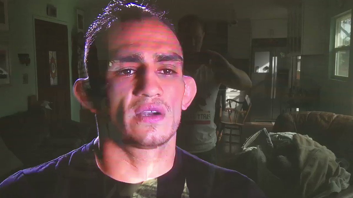 The worst part is missing out on Tony Ferguson's patented fight week trash talk.