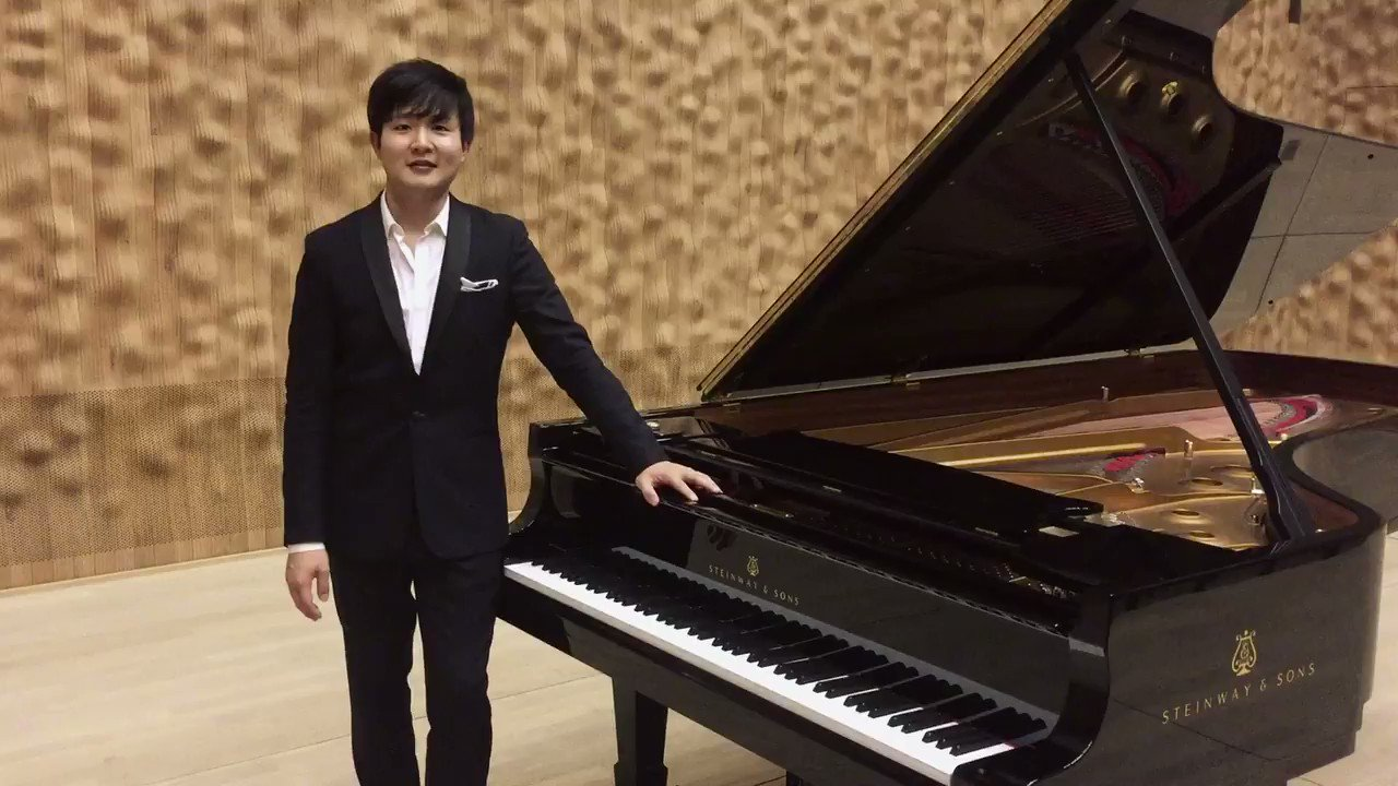 Reloaded twaddle – RT @SteinwayAndSons: Congratulations to @TheCliburn winner Yekwon Sunwoo (선우예권_ ...