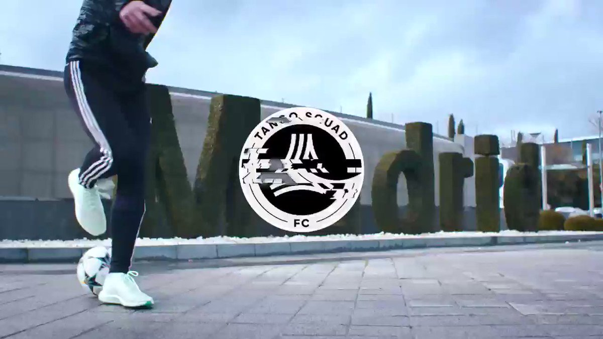 Let's learn from the #UCL champions. #TangoSquadFC Ep8 at @realmadrid: https://youtu.be/0ji-Vyht3Lk