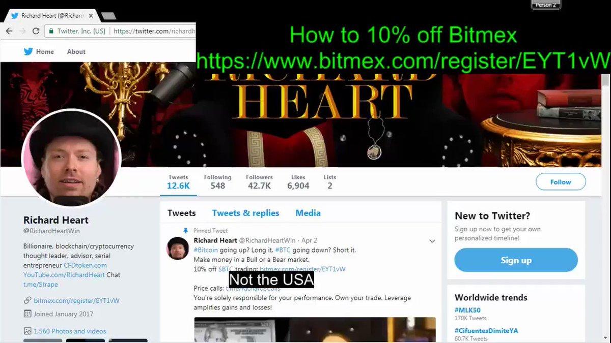 Richard Heart on Twitter: