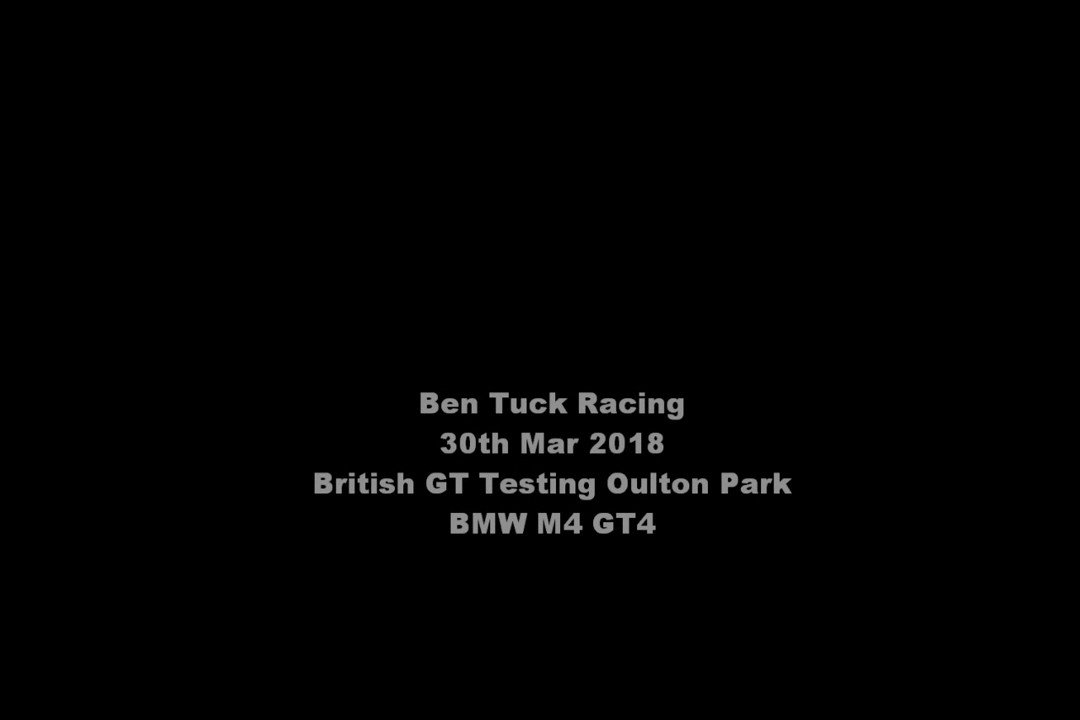 Check out https://t.co/DQKS9tkAUB for our race report from the @BritishGT season opener @Oulton_Park with @Century_Msport and @BenGreenRacing in the @BMWMotorsport M4 GT4.   And to get you in the mood - here's a lap from Friday testing.. #TeamBTR #CenturyMotorsport #BMWMotorsport