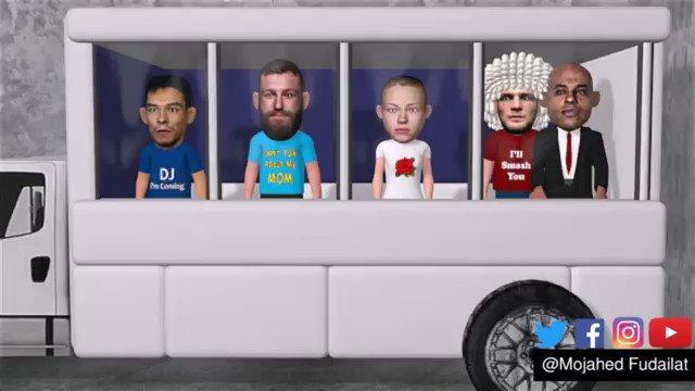 Conor Mcgregor Bus Attack #ufc223 #animation #BusAttack