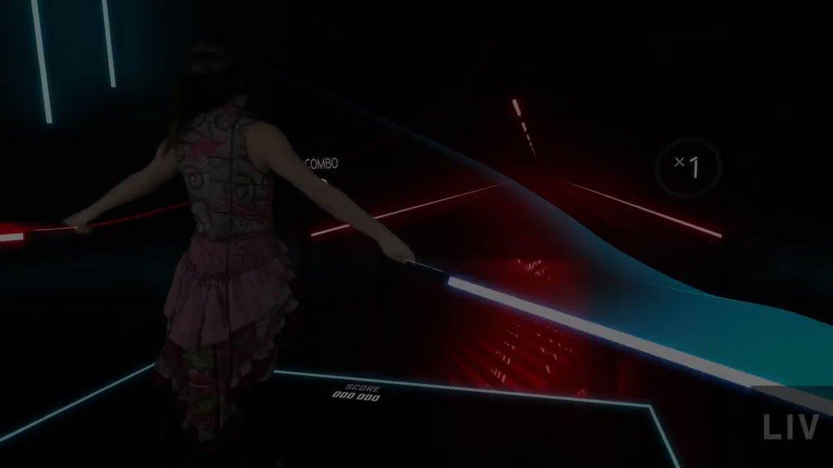 VRの音ゲーが痩せそうと俺の中で話題