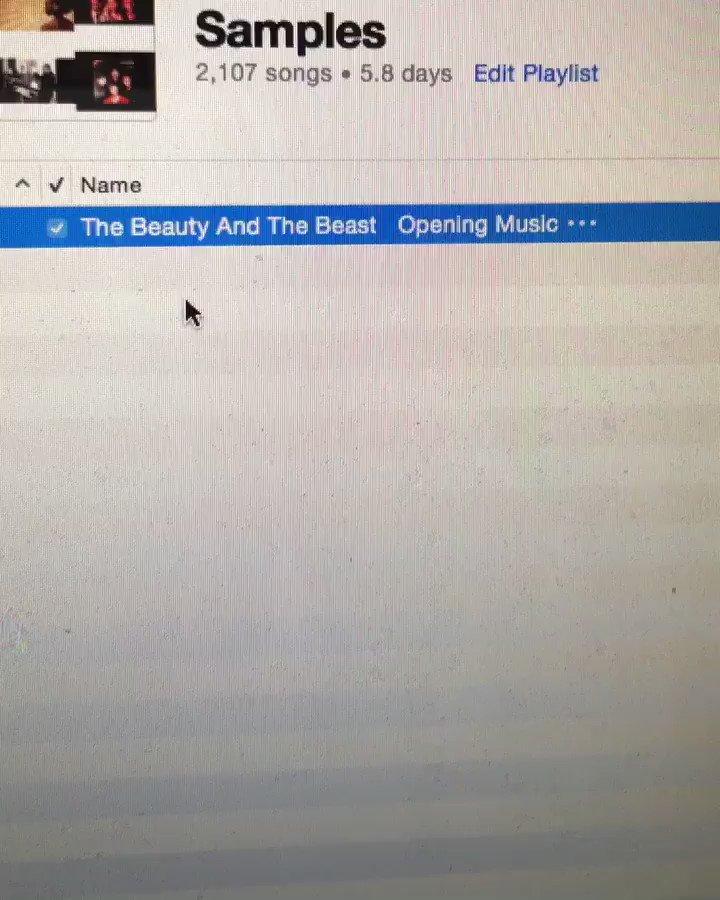 Disney don't sue me.... Beauty & The Beast sample 👀👀🔥🔥🔥