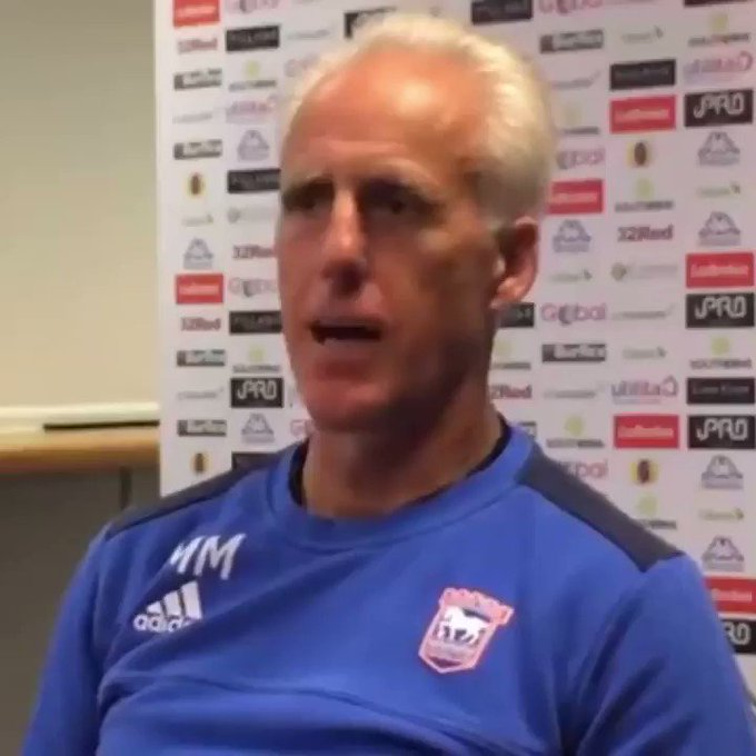 Happy Birthday Mick McCarthy! The Republic of Ireland manager turns 60 today!  Keep on being Mick, Mick...