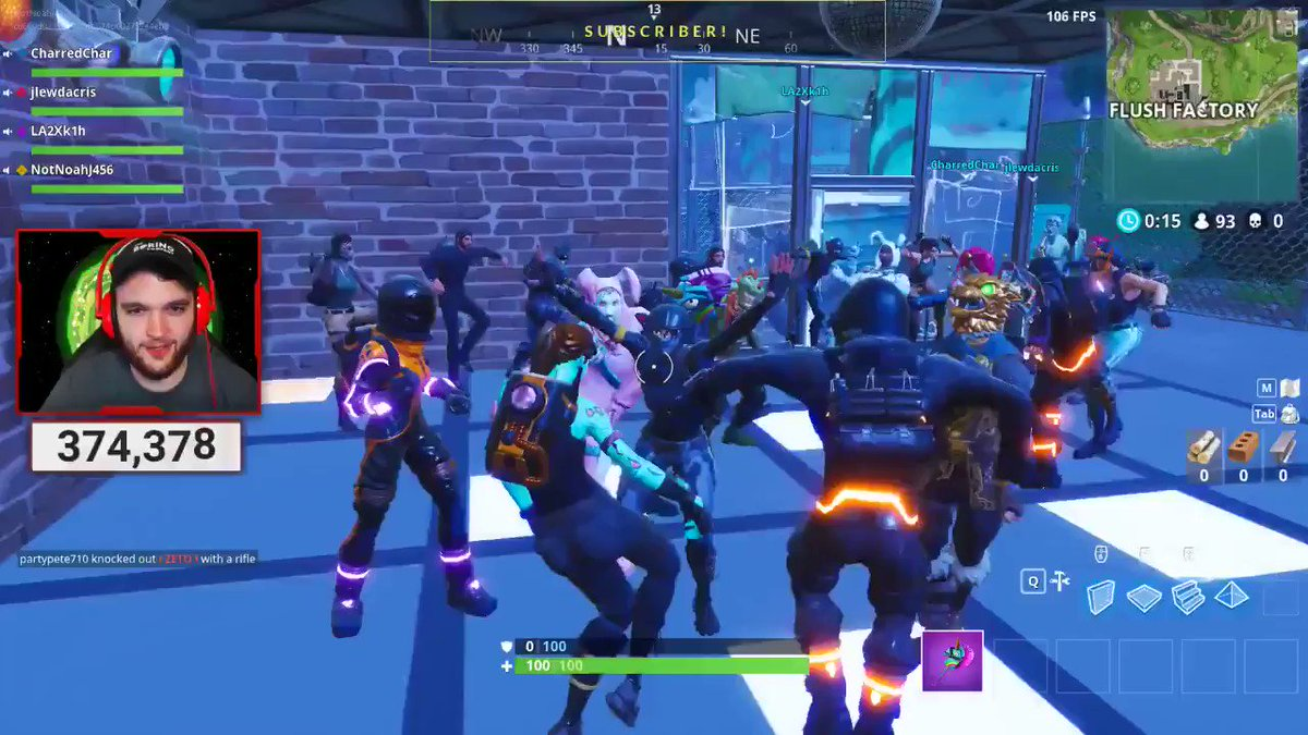 Turns out 'Fortnite' dance parties are way more fun than fighting