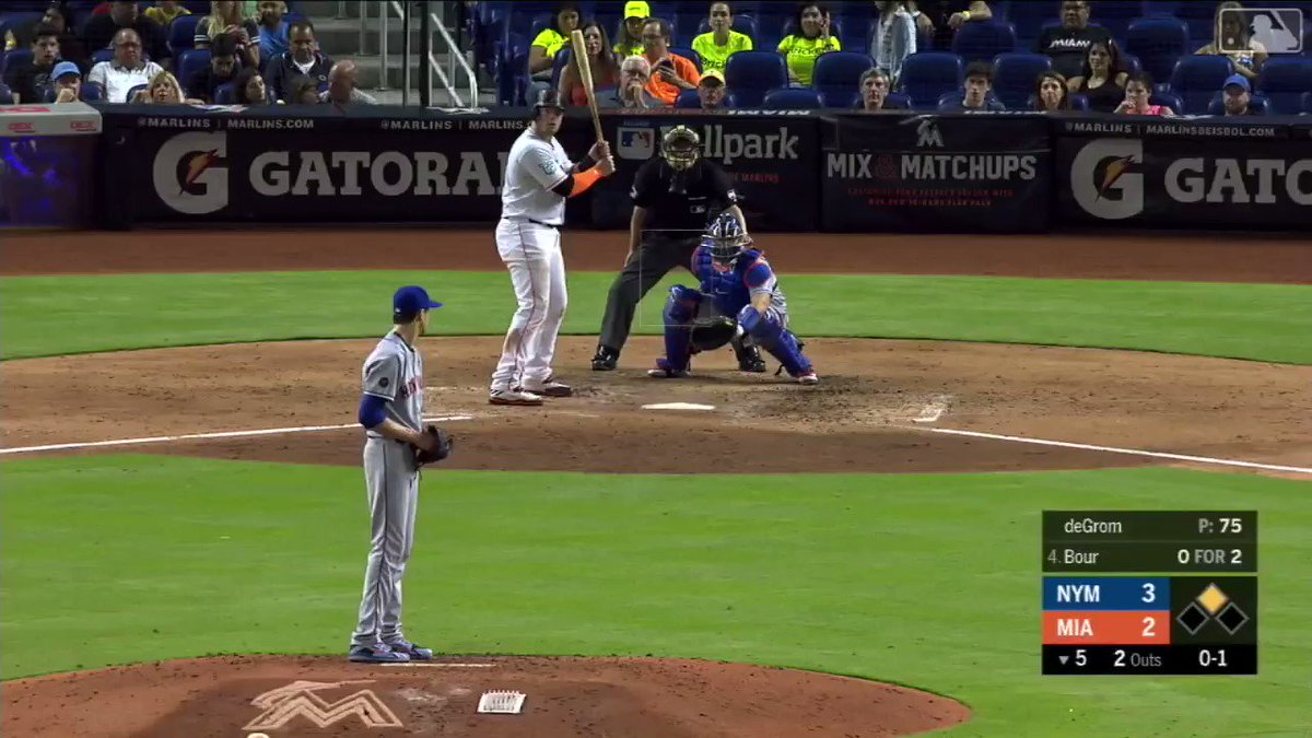 You're not seeing double. That's two home runs from @bour41.  #JustGettinStarted https://t.co/fSdr0H1Ib6