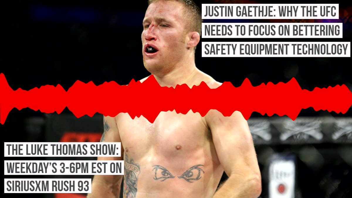 @Justin_Gaethje: Why the UFC needs to focus on bettering safety equipment technology  @lthomasnews #TLTS