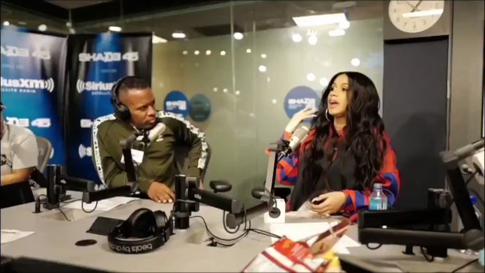 ������ @iamcardib on pregnancy sex ������ @Shade45 ������ #TagaPrego https://t.co/68YffKa8Fm